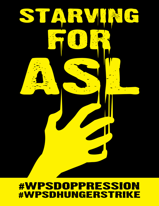 Starving For ASL mini-poster